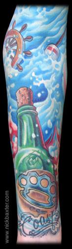 Nick Baxter - Message In A Bottle (Detail)