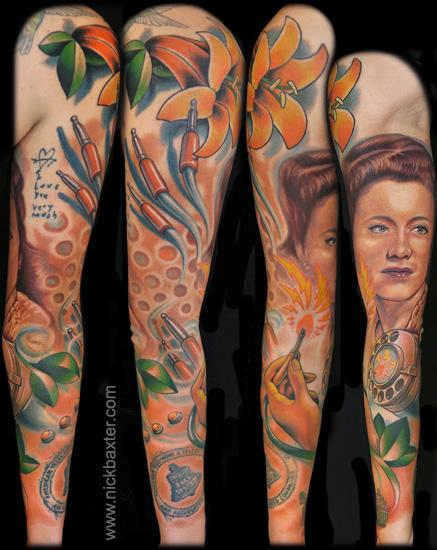 Tattoos - Grandma Tribute - 75579