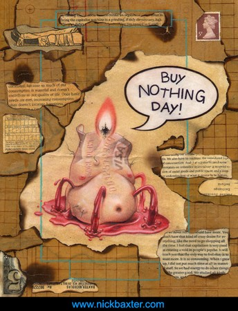 Nick Baxter - Buy Nothing Day
