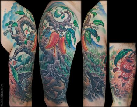 Tattoos - Iboga Tree - 131269