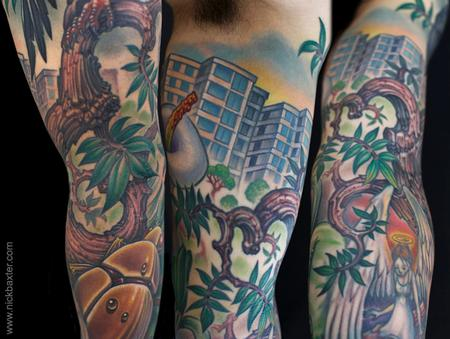 Tattoos - Ecuador (Detail) - 123090