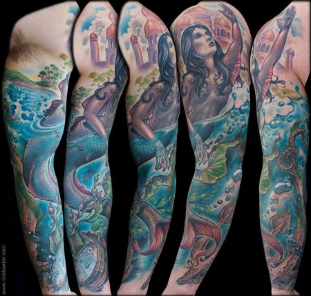 Tattoos - Mermaid - 132148