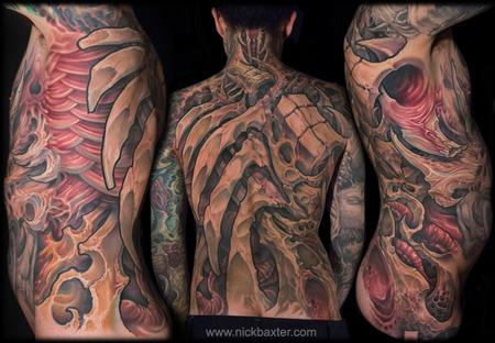 Tattoos - Gruesome Torso - 128334