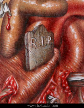 Nick Baxter - Heart (Detail)