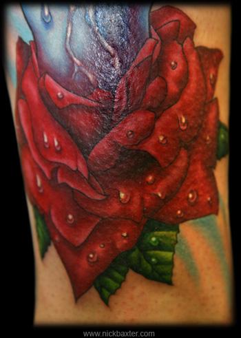 Nick Baxter - Rose (Detail)