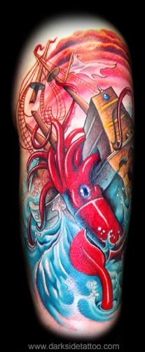 Nick Baxter - Giant Squid