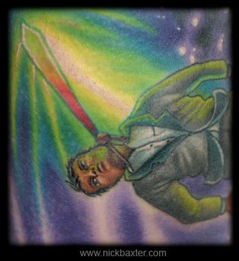 Nick Baxter - Wishful Businessman (detail)