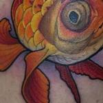 Tattoos - A goldfish  - 126195
