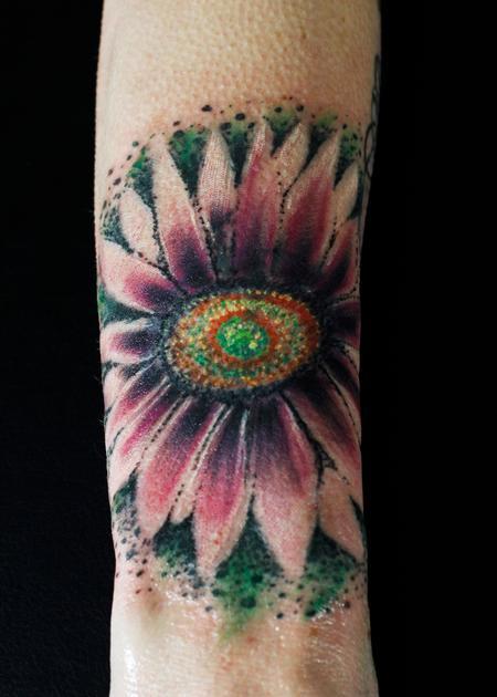 Tattoos - Gazania - 134315