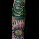 Tattoos - Flower Sleeve Progression - 134700