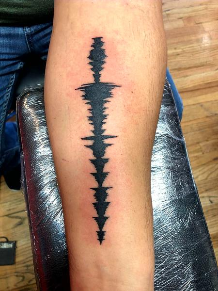 Joe Meiers  - Soundwave tattoo