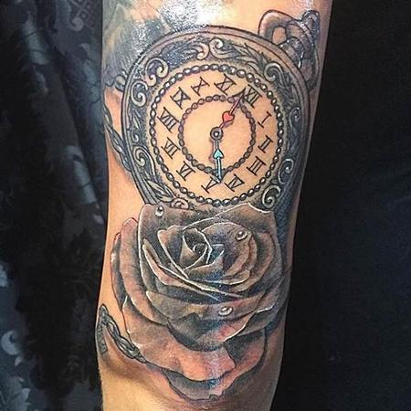 Joe Meiers  - rose & clock