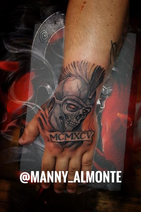 Tattoos - Roman Warrior  - 132709