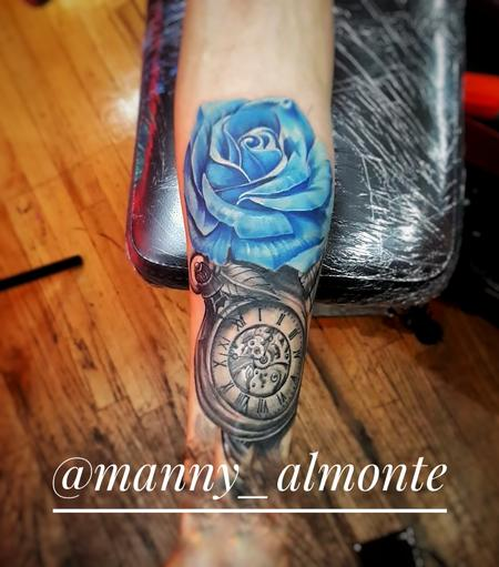 Tattoos - Blue rose - 132532