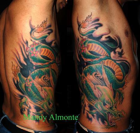 Manny Almonte - dragon ribs