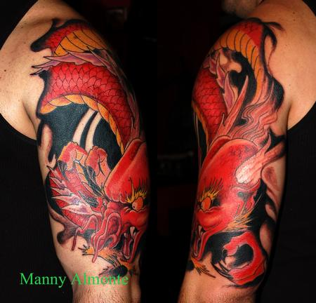 Manny Almonte - Red Dragon