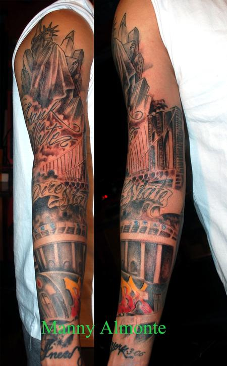 Manny Almonte - Bronx sleeve