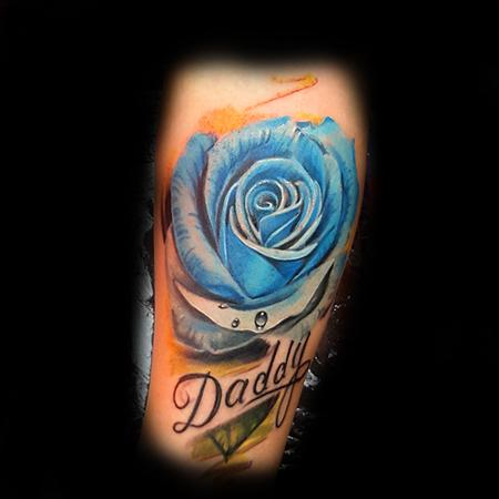 Tattoos - Blur Rose - 133427
