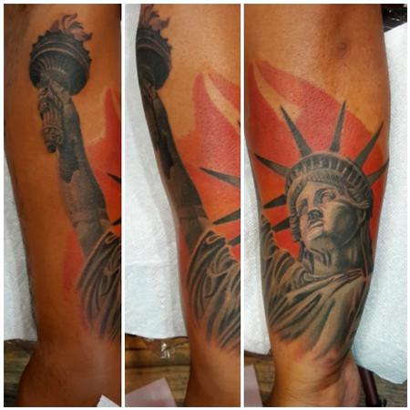 Manny Almonte - Statue of Liberty