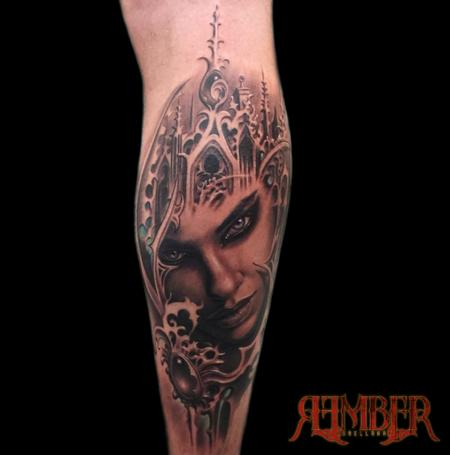 Tattoos - Gothic fantasy Portrait - 112387