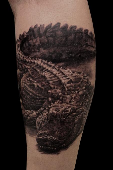 Tattoos - Gator  - 114269