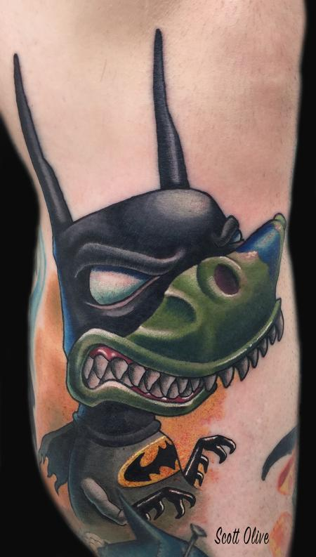 Tattoos - Tree batman - 127970