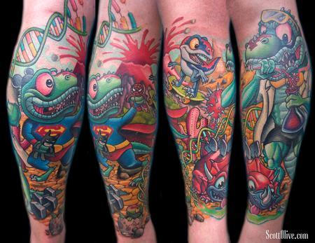 Tattoos - Dino Family - 119429