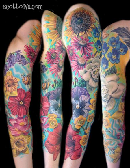 Tattoos - Flowers - 108251