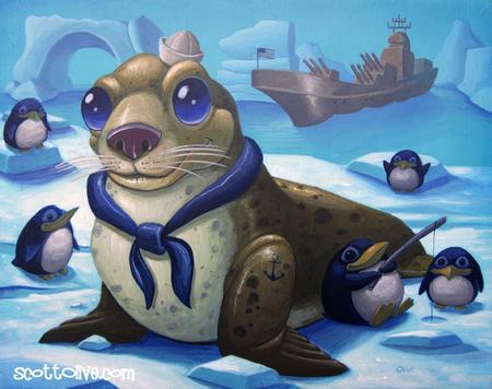 Scott Olive - Navy Seal