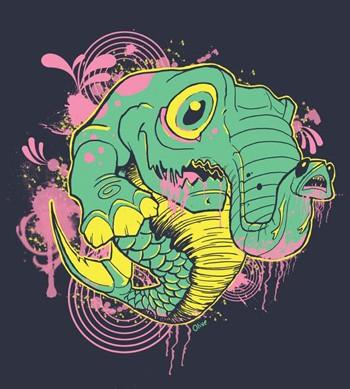 Scott Olive - Oddity T-shirt design