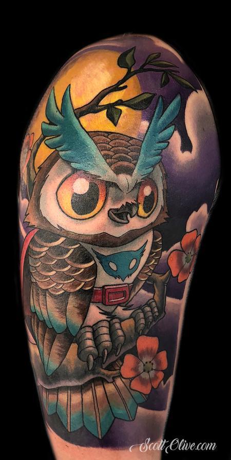 Scott Olive - Super Owl