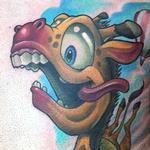Tattoos - Sky Diving Giraffe - 123326