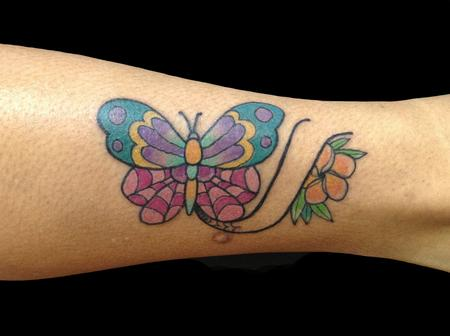 Adam Considine - Butterfly Plumeria