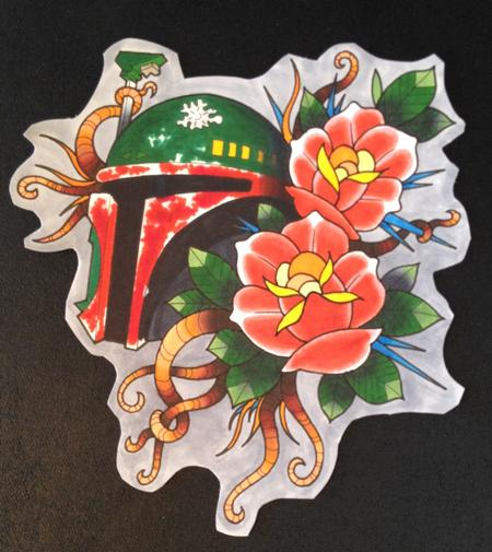 Adam Considine - Boba Fett Sarlac Roses