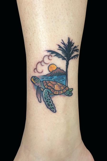 Adam Considine - Hawaii Turtle