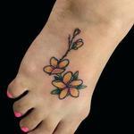 Tattoos - Plumeria - 137937