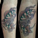 Tattoos - Fish - 120008
