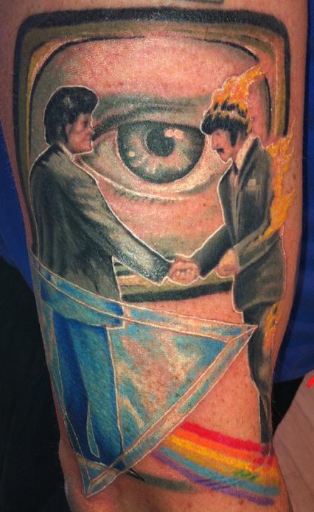 George Floyd Tattoo: Pink Floyd 2 By George Scharfenberg : TattooNOW