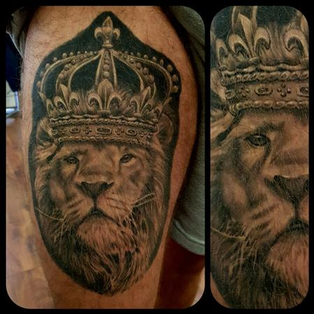 Tattoos - King Lion - 133749