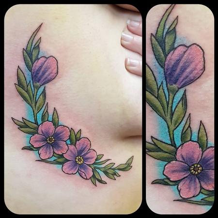 Tattoos - Freehand flowers - 133707