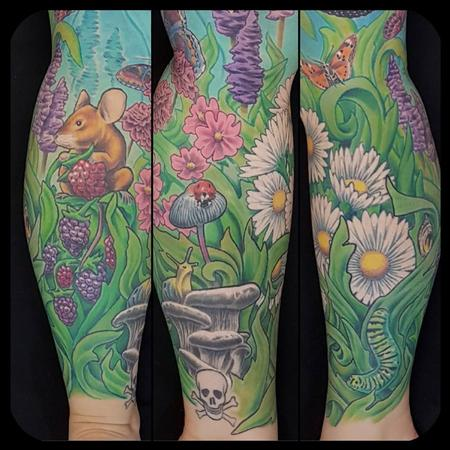 Tattoos - Nature Leg Sleeve - 134472