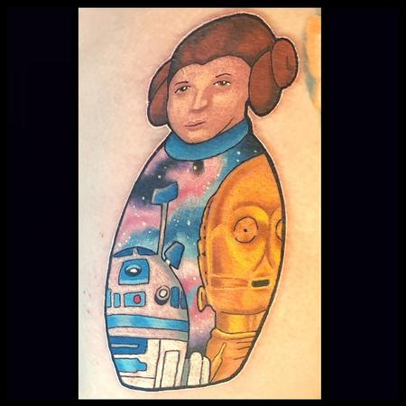 Star Wars russian doll Design Thumbnail