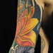 Tattoos - Lotus and Turtle Sleeve - 93665