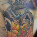 Tattoos - Dragon Grabbing Lotus - 93667