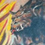 Tattoos - Frazetta Wizard - 115197