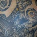 Tattoos - Owl Skull Neo Borneo - 115190