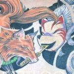 Tattoos - Kitsune Foxes - 115189