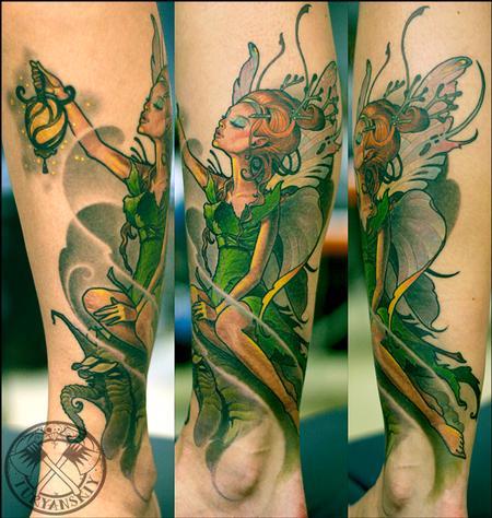 Oleg Turyanskiy - Fairy tattoo