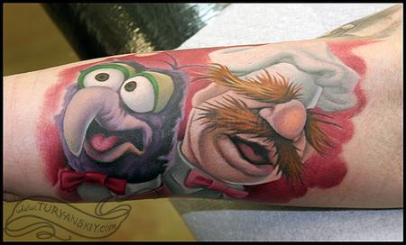 Tattoos - Gonzo and Swedish Chef - 59596