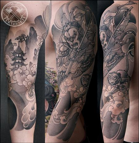 Tattoos - Sun Wukong The Monkey King - 82491